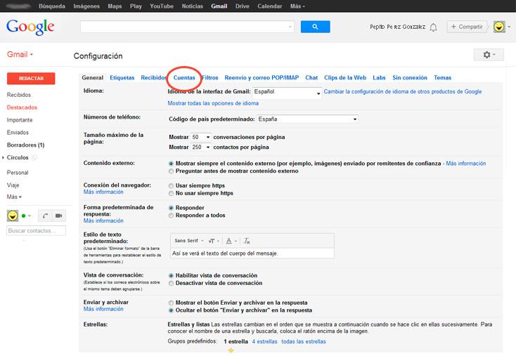 google-cuentas
