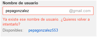usuario-no-disponible-gmail